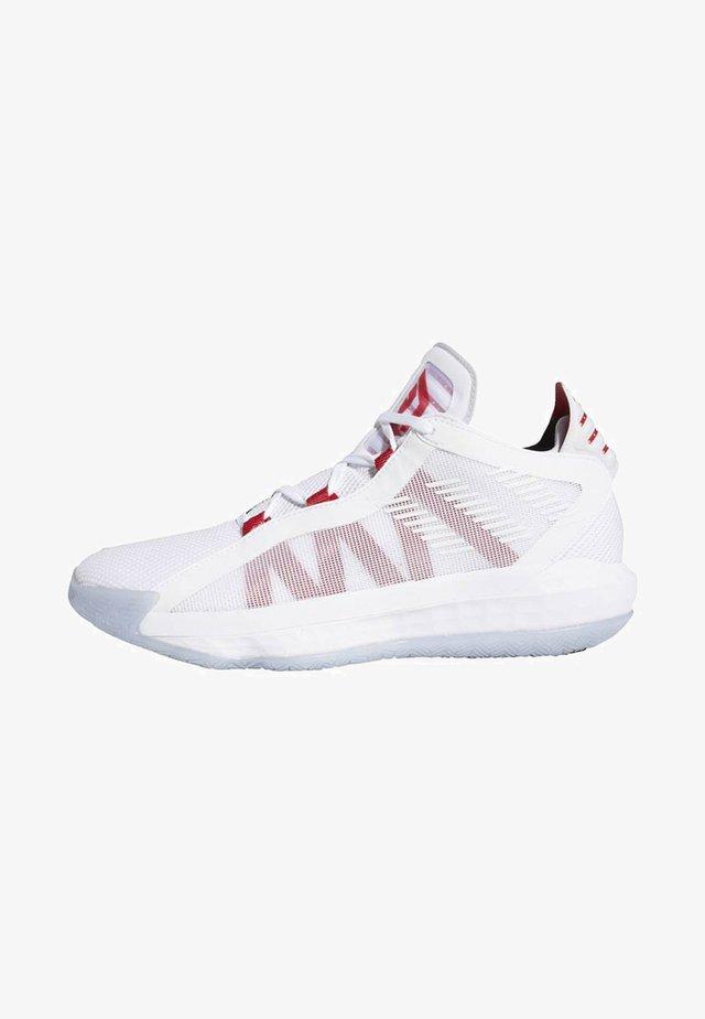DAME 6 SHOES - Chaussures de basket - white
