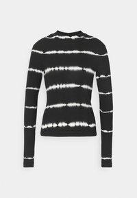 VERA MOCKNECK - Long sleeved top - black