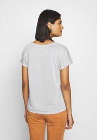 Mos Mosh - KAY TEE - Basic T-shirt - celestial blue - 2