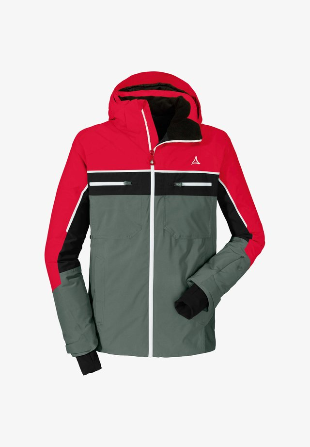 BERGAMO3 - Ski jacket - red