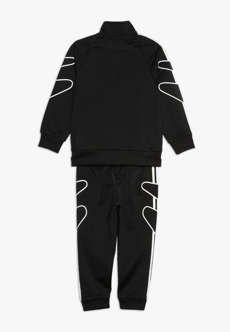 lanzar Experto Leia  adidas Originals FLAMESTRK - Tracksuit - black/white - Zalando.co.uk