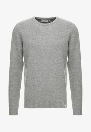 ALLEN - Stickad tröja - grey heather