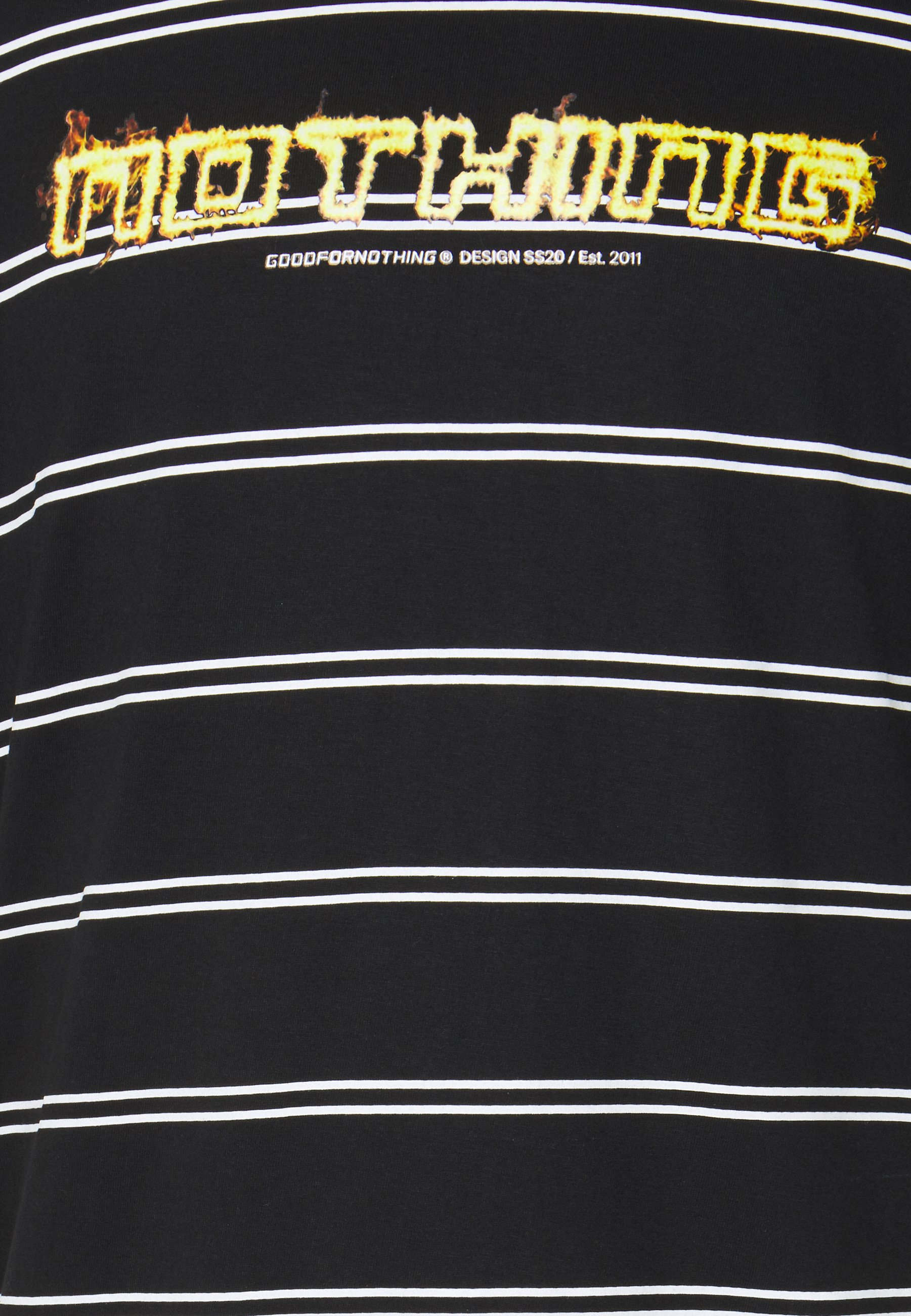 Women OVERSIZED FLAME STRIPE UNISEX - Print T-shirt