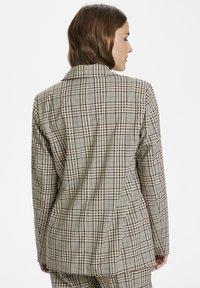 Kaffe - KAJESLA  - Short coat - black/thrush/check - 2