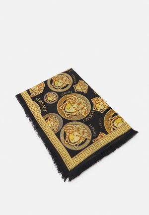 MEDUSA SHAWL - Foulard - black/gold