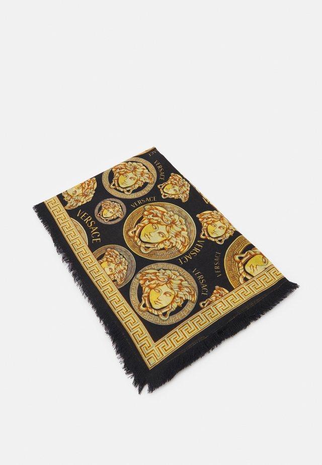MEDUSA SHAWL - Šátek - black/gold