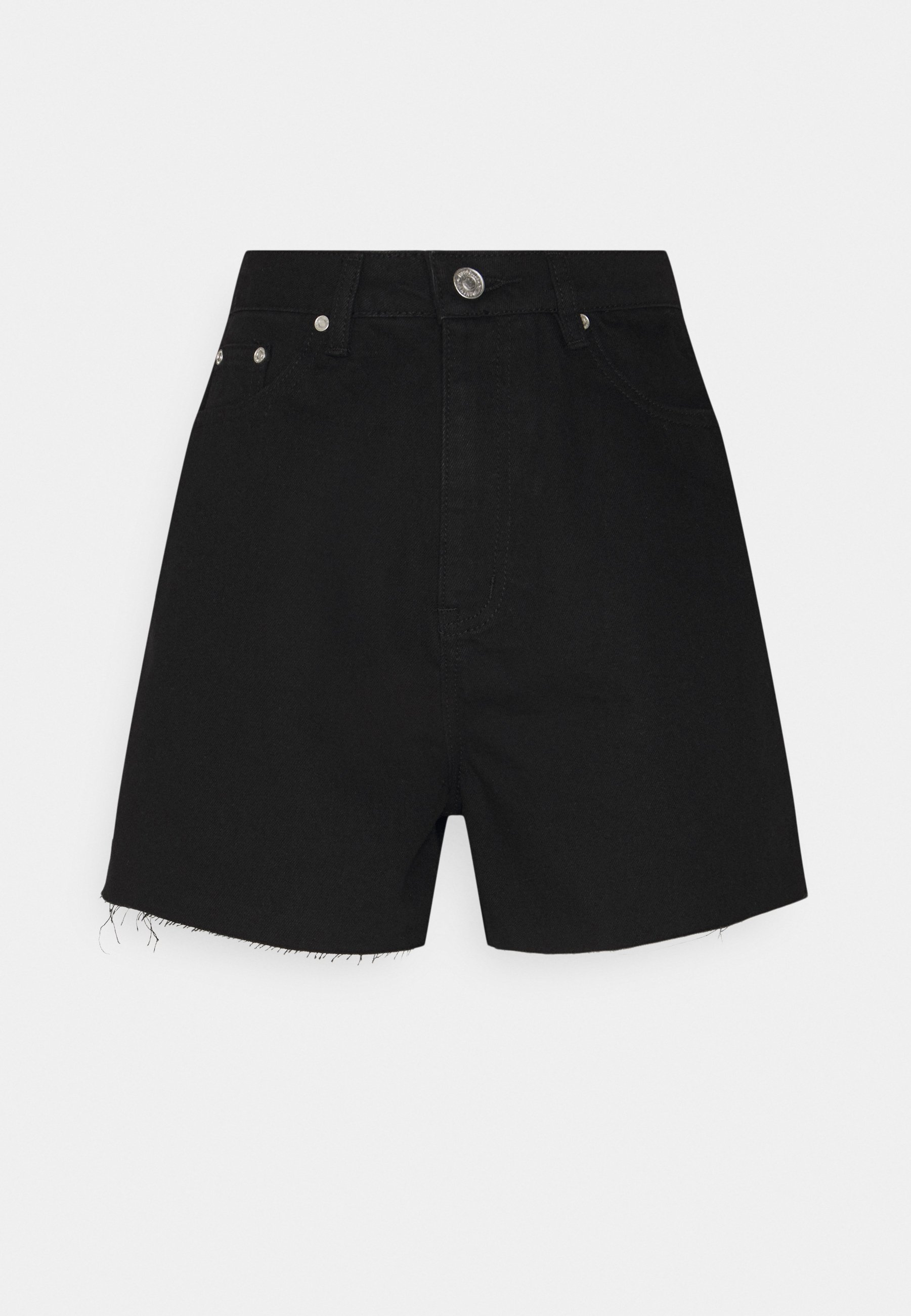 Alle RIOT RAW HIGHWAISTED MOM  - Jeans Shorts