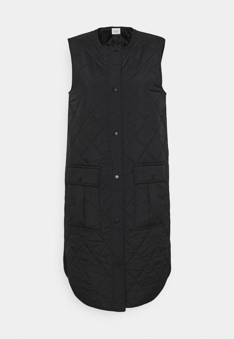 JDY - JDYAUGUSTA DIAMOND WAISTCOAT - Vest - black