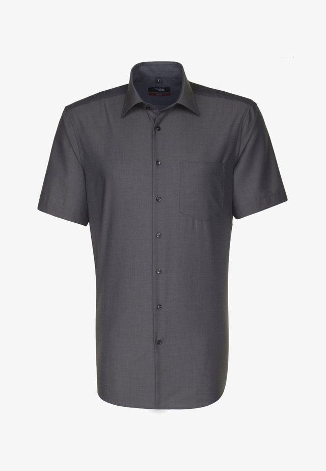 REGULAR FIT - Overhemd - schwarz