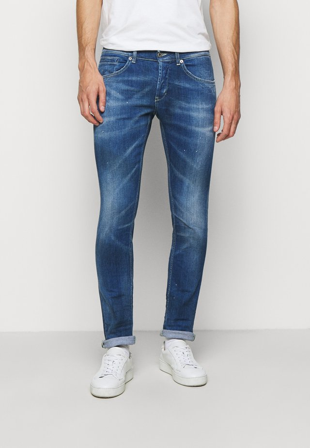 PANTALONE GEORGE - Jeans slim fit - blue denim