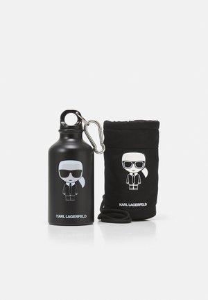 IKONIK WATER BOTTLE & HOLDER 360 ml - Jiné doplňky - black