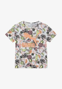 Puma - CLASSICS FRUIT TEE - Camiseta estampada - white - 3