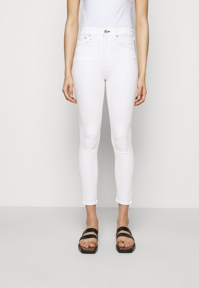 NINA ANKLE  - Jeans Skinny Fit - white
