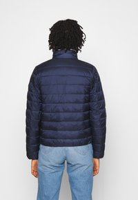Tommy Jeans - QUILTED ZIP THROUGH - Jas - twilight navy - 2
