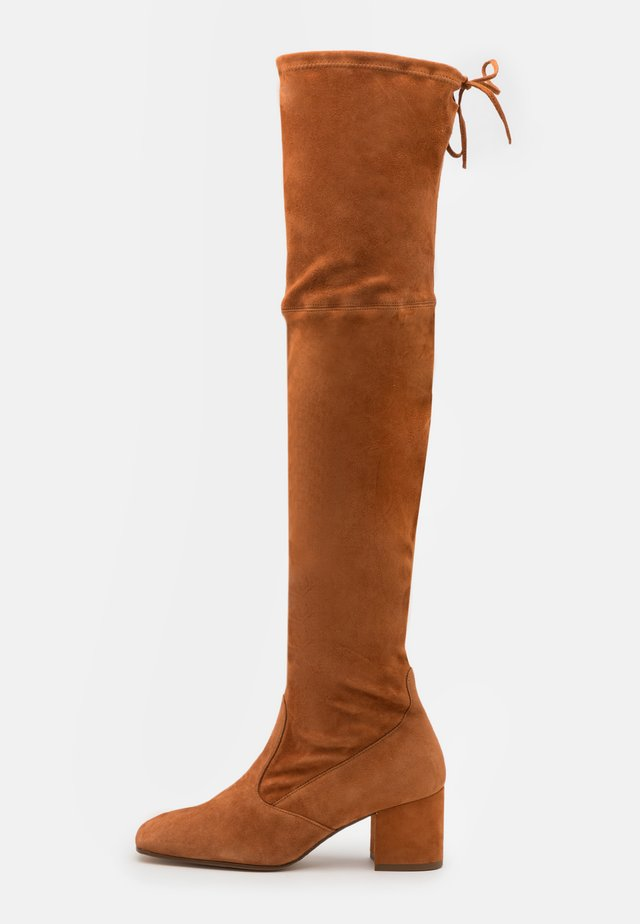 Over-the-knee boots - nut