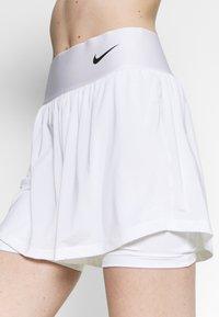 Nike Performance - SHORT - Sportovní kraťasy - white/black - 3