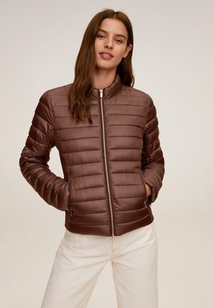 BLANDI - Light jacket - tabac