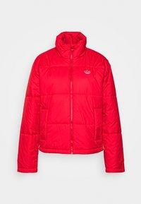 adidas Originals - PUFFER WINTER MIDWEIGHT JACKET - Light jacket - scarlet - 4
