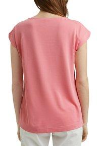 Esprit - FASHION - Basic T-shirt - coral - 5