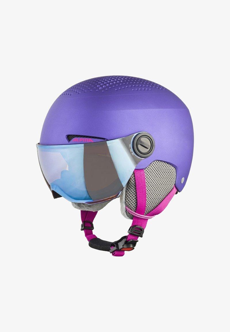 Alpina - ZUPO VISOR - Helmet - violet matt