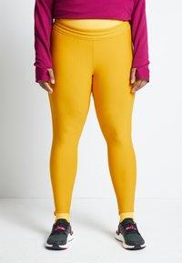 adidas Performance - ASK C.RDY - Leggings - yellow - 0