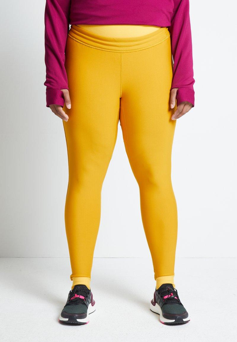 adidas Performance - ASK C.RDY - Leggings - yellow