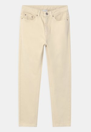 MOM - Relaxed fit jeans - off white