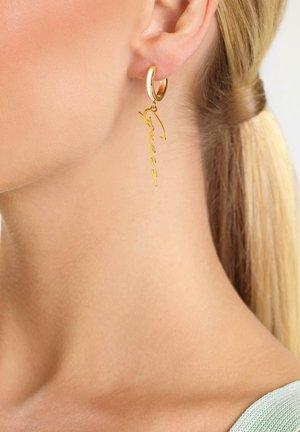 Earrings - weiß