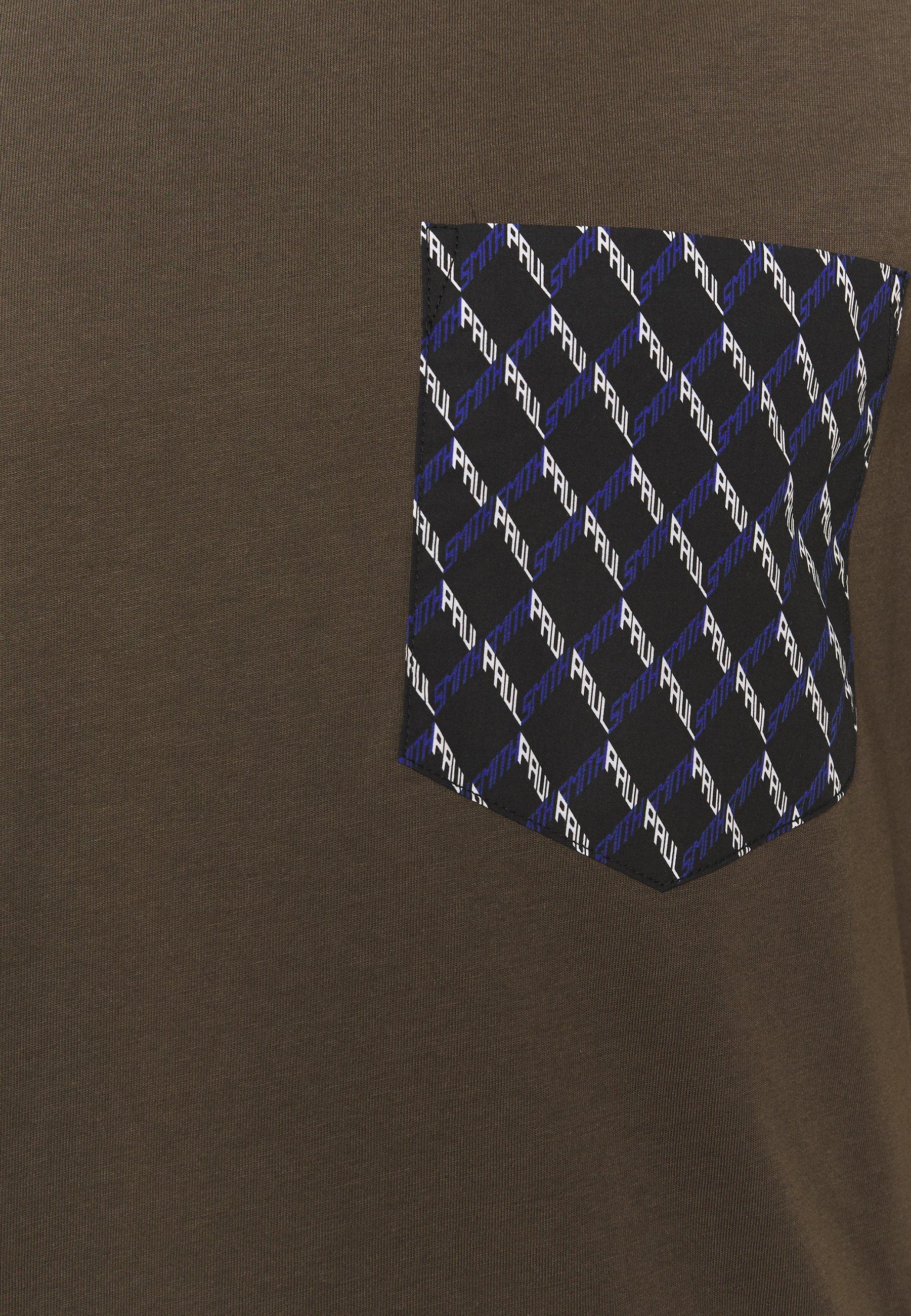 Obtenga la última moda Paul Smith Camiseta estampada grey oeNxf