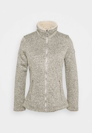 RAZIA - Fleecejacke - white
