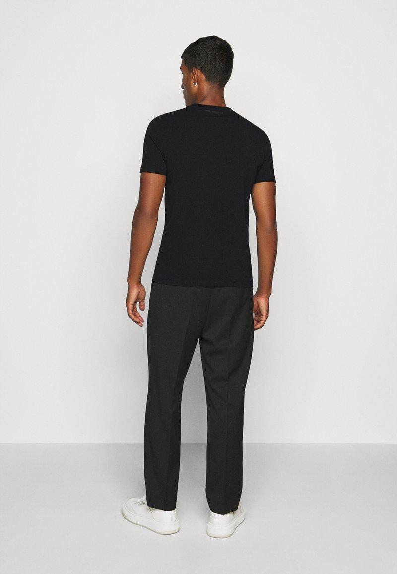 KARL LAGERFELD CREWNECK - T-Shirt print - black/schwarz WUZyU6