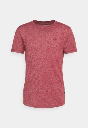 Basic T-shirt - burned cordovan red
