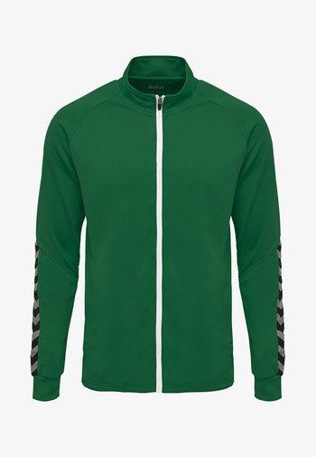 HMLAUTHENTIC  - Training jacket - evergreen