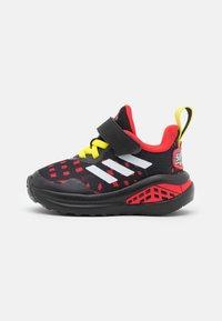 adidas Performance - FORTARUN SUPERHERO UNISEX - Chaussures de running neutres - core black/footwear white/vivid red - 0