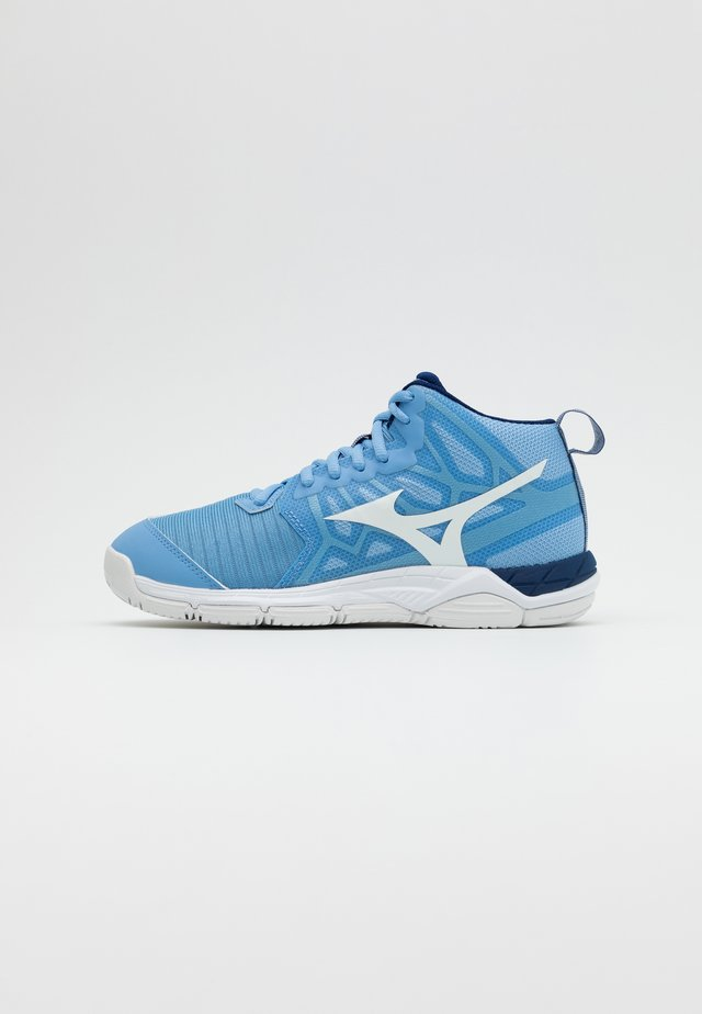 WAVE SUPERSONIC 2 MID - Volleybalschoenen - dellarblue/white
