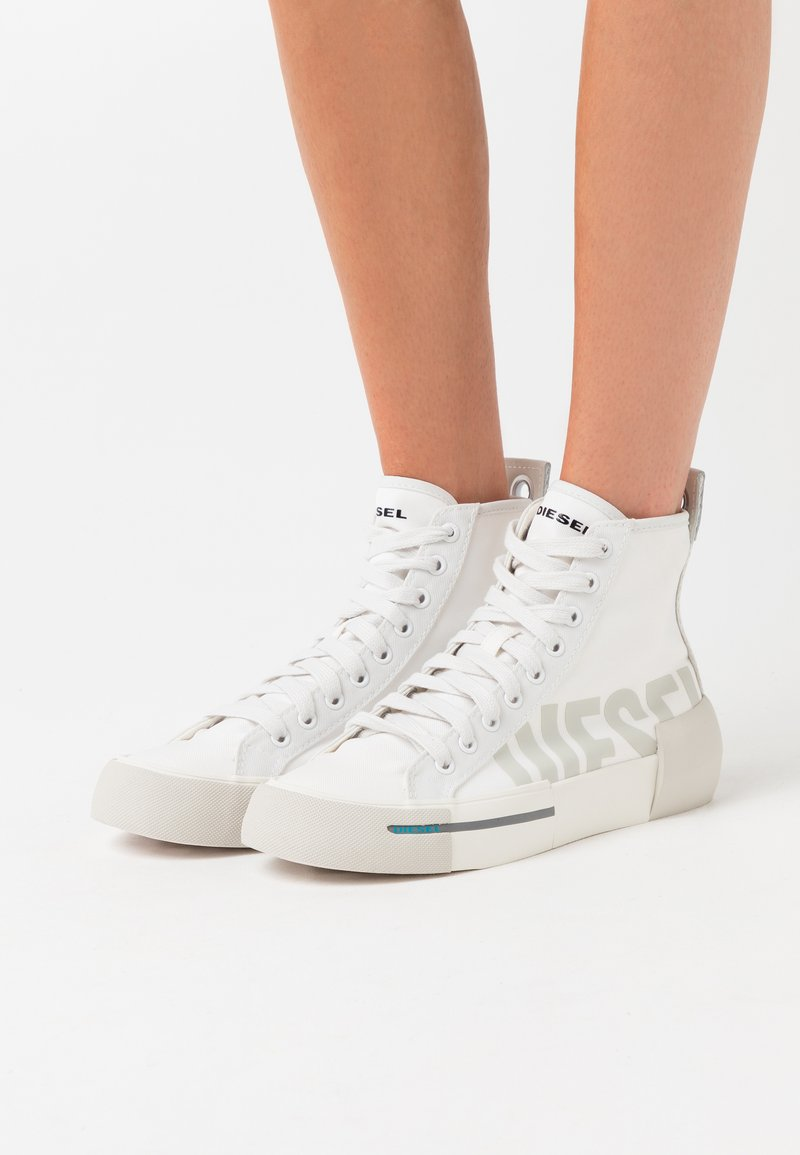 Diesel - DESE S-DESE MID CUT W - High-top trainers - white