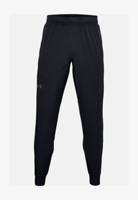 Under Armour - UNSTOPPABLE JOGGERS - Joggebukse - black - 0