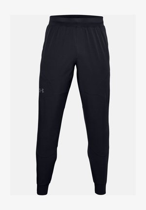 UA FLEX WOVEN JOGGERS - Tracksuit bottoms - black