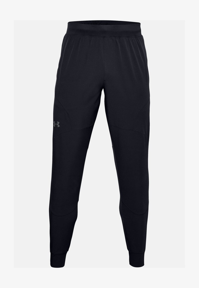 Under Armour - UNSTOPPABLE JOGGERS - Joggebukse - black