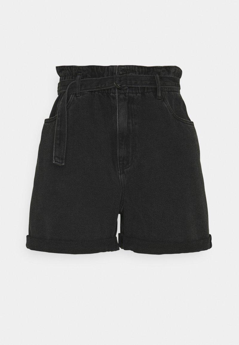 Vero Moda Tall - VMTAMARA - Shorts di jeans - black