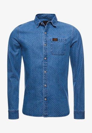WORKWEAR - Shirt - indigo dot dobby