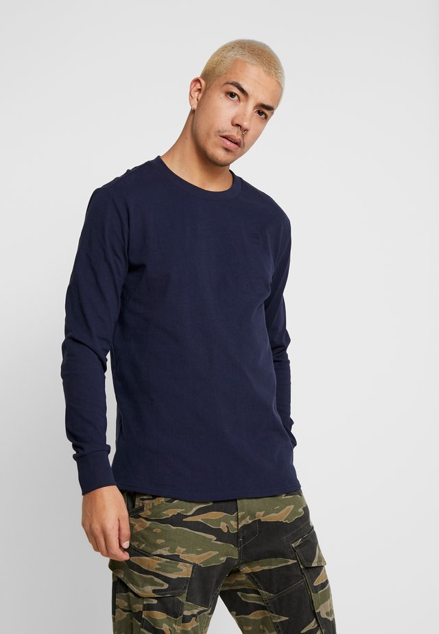 SWANDO LOOSE - Long sleeved top - sartho blue