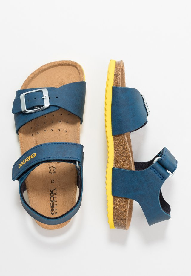 GHITA BOY - Sandals - avio