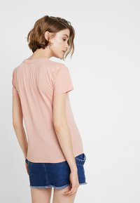 Hollister Co. - CORE PRINTED LOGO TEE - Camiseta estampada - pink - 2