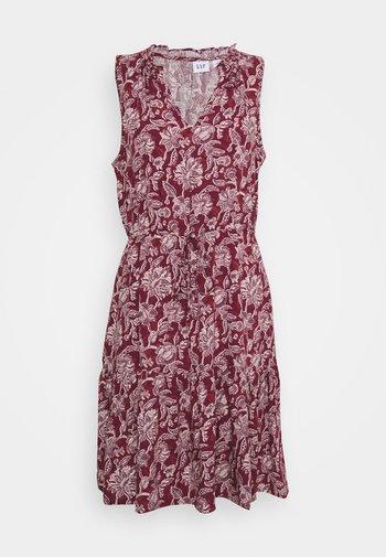 ZEN DRESS - Day dress - burgundy