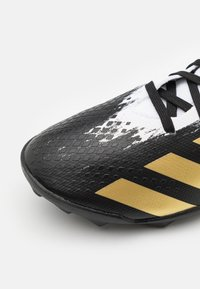 adidas Performance - PREDATOR 20.3 FOOTBALL BOOTS TURF UNISEX - Astro turf trainers - footwear white/gold metallic/core black - 5