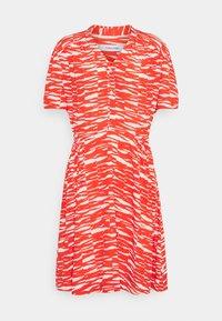Calvin Klein - SHORT DRESS - Day dress - fiesta/ecru - 5