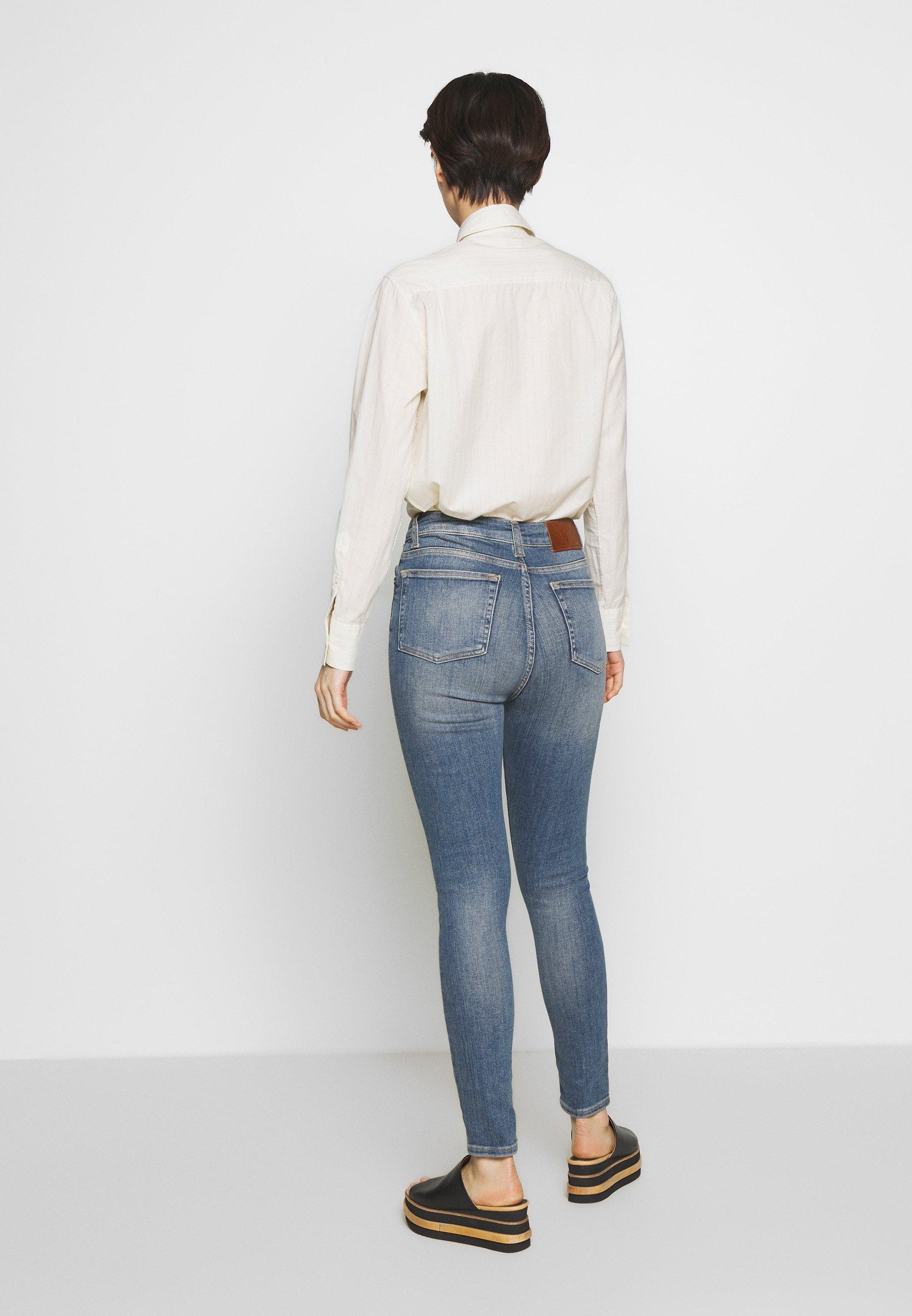 J.LINDEBERG UMA ACTIVE - Jeans Skinny - light blue - Jeans Femme TG0wf