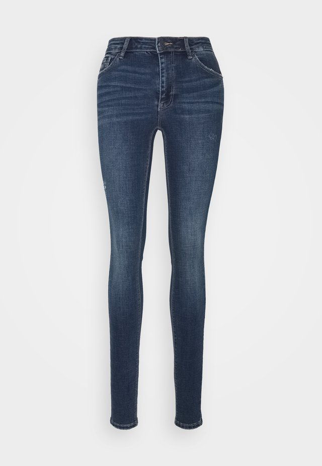 VMLYDIA SKINNY - Jeans Skinny - medium blue denim