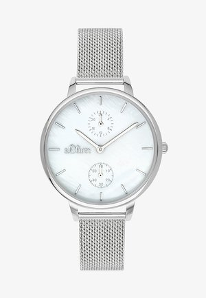 Watch - silver coloured/white